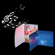 Electronic Greeting Card -LEDCUST008