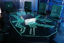 LyTec Wire - Glass Table