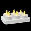Rechargeable T-light Candle-LNTLC001