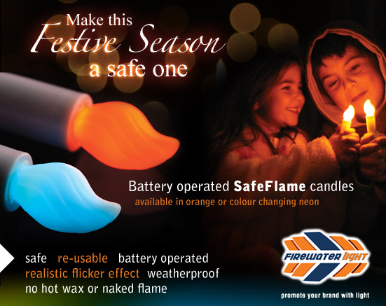 Battery Operated SafeFlame Candles